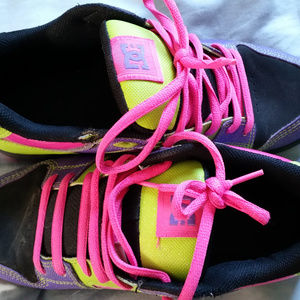 Colorful DC shoes!